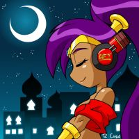 Shantae headphones pic by rongs1234