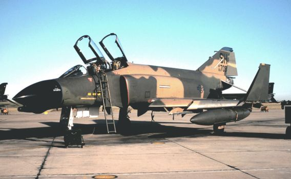 F-4D in 'Wraparound' No. 7 by F16CrewChief
