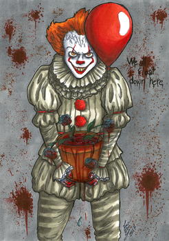 We all float down here by Alchemye
