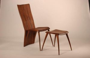 Chair and Ottoman by RossRuppel