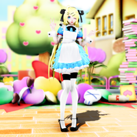 {MMD} Alice UPDATE VER. 2.0 by Artsy-Cup