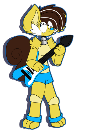 Sara The Squirrel .:Requested:. by PegasusVixen7950