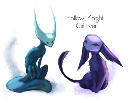 Hollow Knight Cats by crylica-kress