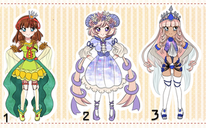 Adoptable Leftovers Batch #2 - CLOSED by Idea-Atelier