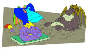 Beast Makers Mud Spa by RetroUniverseArt by BenBandicoot