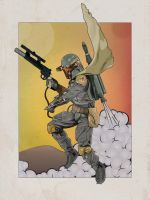 Four Color Fett by Jonny-Raygun