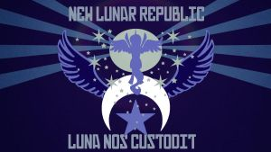 New Lunar Republic Poster (Clean) by Red-Rover-fim