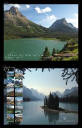 2015 Lakes of the Rockies Calendar by Crooty