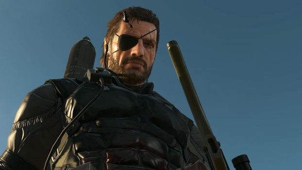 Snake - Metal Gear Solid 5: PP by PlanK-69