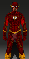 DCEU Concept: Ezra Miller Flash by IronAvenger1234