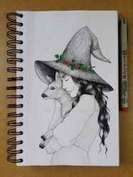Holly Witch by ivyjv