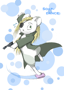 the soap dance by cheetahtrout