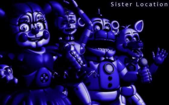 C4d | Sister Location - Remake by Smiley-Facade