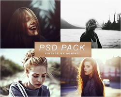 PSD Pack Vintage by LittleMusa