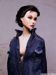 Angelina Jolie Doll by moccasiini
