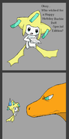 When you wish upon a Jirachi by NameFail