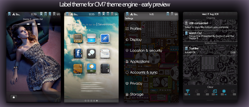 Label Theme for CM7 Preview by Taine0