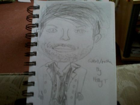 Castiel drawing. by holster262