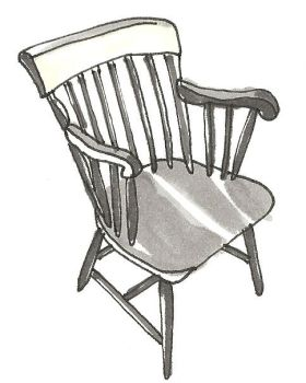 Chair Grey Tone 5 by bagtop