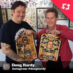 Don Ed Hardy and his son Doug Hardy by donchuckcarvalho