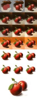 Apple Step by step... by denfo