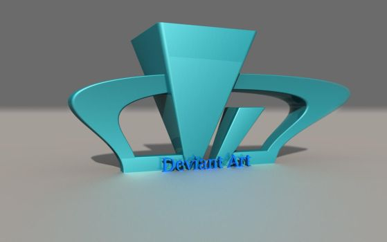 Deviant Art Logo and subtitle by RaySpoint