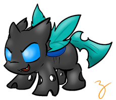 Lil' Changeling by Zutcha