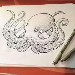 Octopus (Commission) by Nvktia