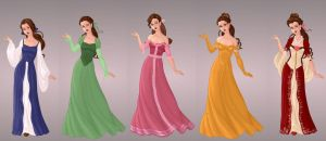 Belle's Wardrobe in Goddess Scene by autumnrose83