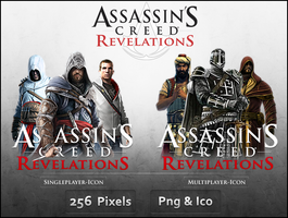AC Revelations  - Icon Pack by Crussong