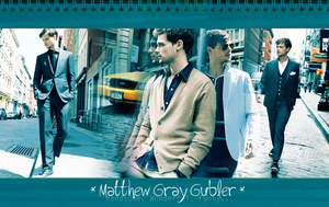 Matthew Gray Gubler Wall 02 by ManonGG