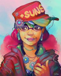 Hip Nature Girl by GDBee