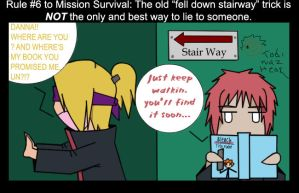 Guide To Mission Survival pg.7 by shizukahana