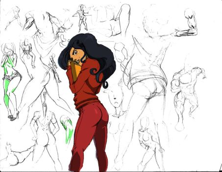 Ass Sketches...and other things. . . by Jetseta