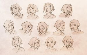 Character Expressions by conniiption