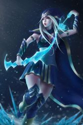 Ashe, the Frost Archer by Zarory