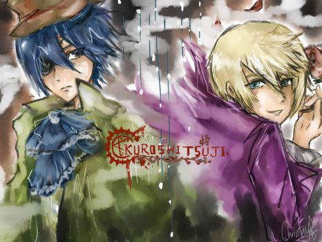 ciel and alois by chriztaychuang