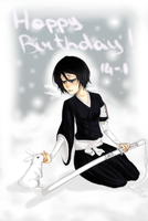Happy b-day Rukia by Shyruu