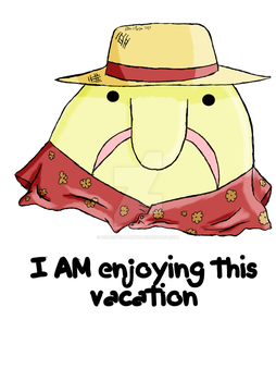 Blobfish on vacation