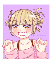 Drawing | Himiko Toga by Haanakko