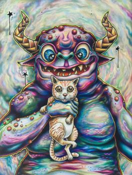 Cat Monster by bryancollins