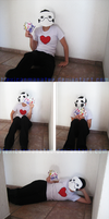 Zacharie cosplay. by MexicanManatee
