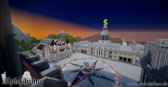 Capital Main Square Sunset by EpicOnline