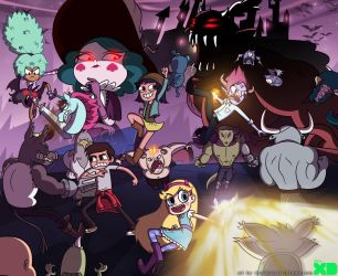 Star vs The Forces of Evil by charlieXe