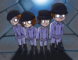 A Clockwork Orange by SolarCookie