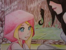 Little red riding Lily~ by PureSunsetRose