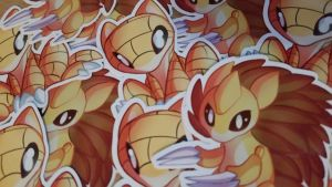 Sandshrew Sandslash_Stickers
