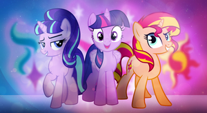 Shimmer, Sparkle, Starlight VIP by Bubbly-Storm