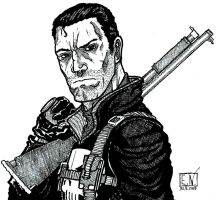 The Punisher by Nordtoemme