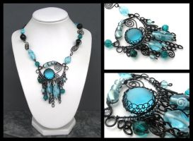 caribbean treasures necklace by annie-jewelry